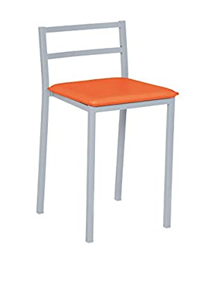 The Best of living Set Taburete de bar 4 Uds. Bugola C1 Naranja