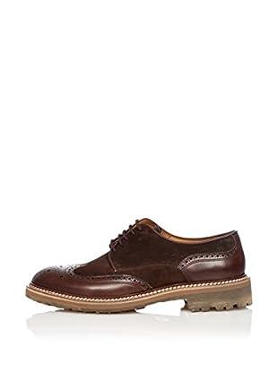 Zampiere Zapatos con Cordones Picados