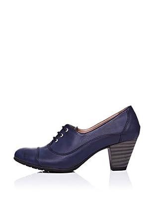 Ziya Zapatos Oxford Cordones (Azul Marino)