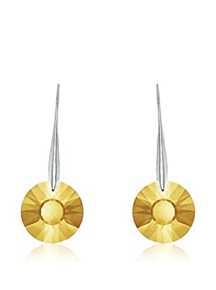 So Charm with Crystals from Swarovski Pendientes  Amarillo