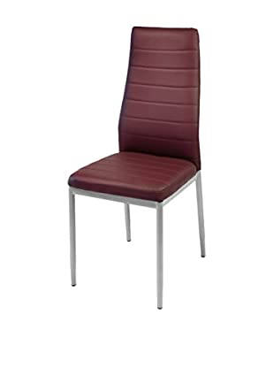 Tinkee Stuhl 4er Set Queen bordeaux