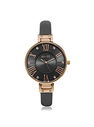 SO & CO New York Women's 5091.3 Rose Gold-Tone Watch