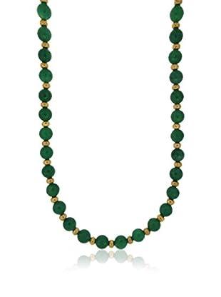ETRUSCA Halskette  dunkelgrün
