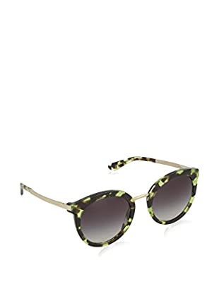 DOLCE & GABBANA CUBE HAVANA GREEN WITH GREYGRADIENT