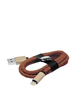 Unotec Kabel 8 Pin Lighting Style braun