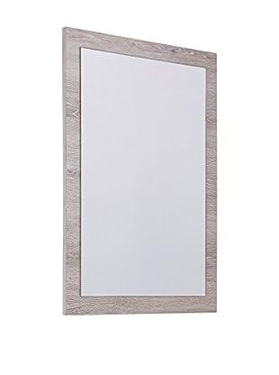 Tinkee Espejo de Pared Oasi Blanco / Madera