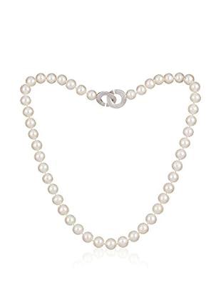 United Pearl Kette  silber/perlmutt