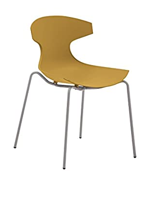 Domitalia Echo Chair, Mustard