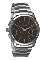 Azzaro Legend Brown Dial Chronograph Stainless Steel Mens Watch Az2060.13Hm.000