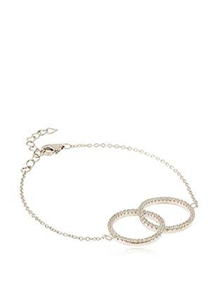 ANDREA BELLINI Armband Doux Cercles Entrecroisés Sterling-Silber 925