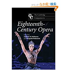 The Cambridge Companion to Eighteenth-Century Opera (Cambridge Companions to Music)
