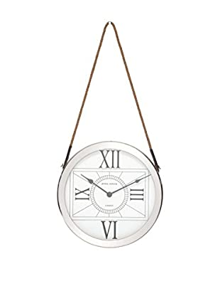 Stainless Steel Roman Numeral Wall Clock