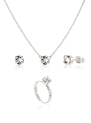 Devota & Lomba Conjunto de cadena, colgante, pendientes y anillo