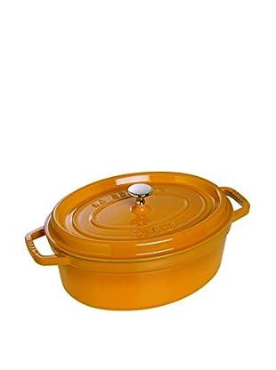 Staub Oval Cocotte (Saffron)