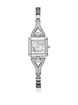 Guess Reloj de cuarzo Woman Plateado 21 mm
