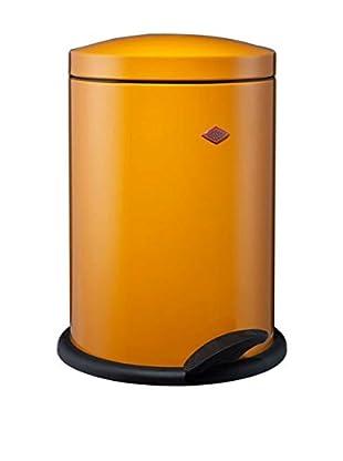 Wesco Tretmülleimer Pedal Bin 13 L orange