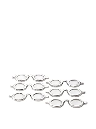 Go Home Spectacles Magnifying Glasses, Industrial Silver