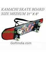 "Kamachi Skate Board Adults Size 31"" X 8"" Size Large"