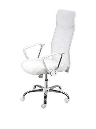 13casa Silla De Oficina Office Blanco 115 x 62 x 66 cm
