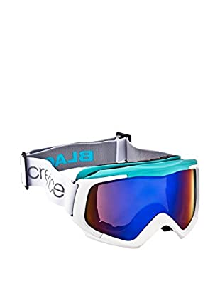 Black Crevice Skibrille weiß/blau