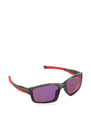 Oakley Gafas de Sol Polarized CHAINLINK (57 mm) Negro / Rojo