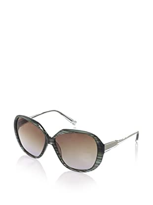 Jason Wu Women's Mia Oversized Sunglasses, Olive Striated, One Size