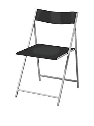 Stuhl 4er Set Slim schwarz