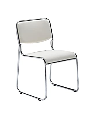Contemporary Living Set Silla 4 Uds. Match Blanco