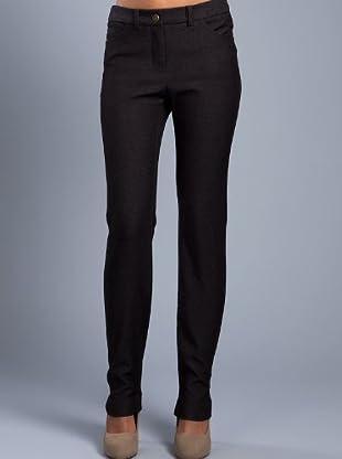 Cortefiel Pantalón Recto Básico (gris oscuro)