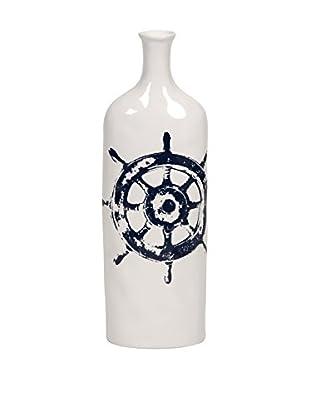 Haines Nautical Steer Vase