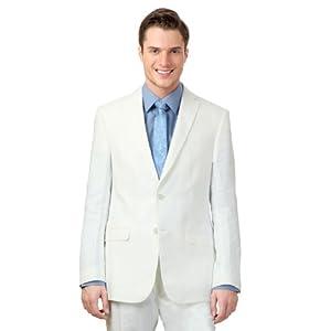 Solid Linen Suit