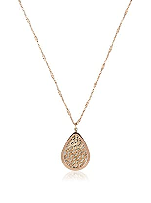 Nomination Cadena  plata de ley 925 milésimas bañada en oro
