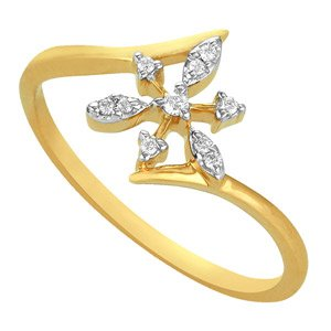 Asmi ADR00131 White Gold Diamond Ring