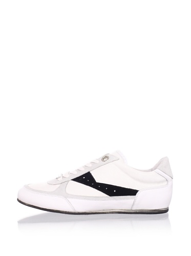 Alessandro Dell Acqua Men's AX Sneaker (White/Black)