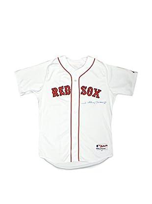 Steiner Sports Memorabilia Johnny Damon White Red Sox Jersey Signed