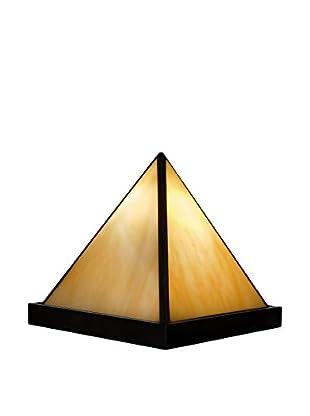 Arte Dal Mondo Tischlampe Piramide