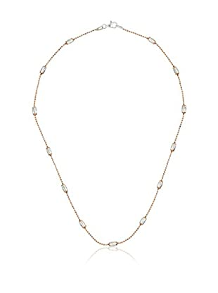 Yocari Halskette vergoldetes Silber 925