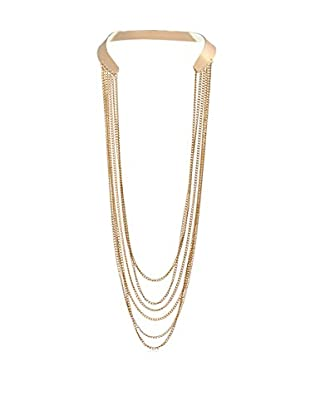 Chloe & Theodora Cache Back Chain Necklace