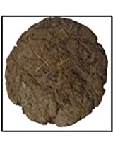 AsiaCraft 12 PCs Pure Cow Dung Cakes (Gobar Upla) for Hawan and Indian Rituals, Dia 8""