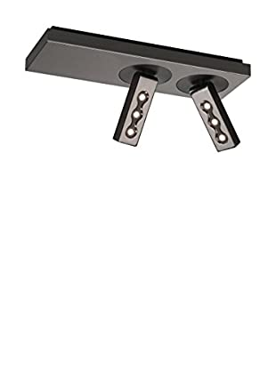 Lirio Deckenlampe Ponato Led Spot 2Flg. 5716213Li schwarz/chrom