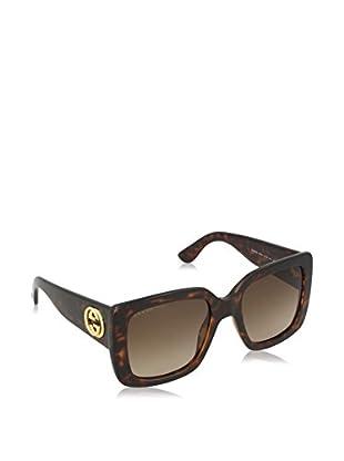 Gucci Occhiali da sole 3814/S HA_LSD (53 mm) Avana