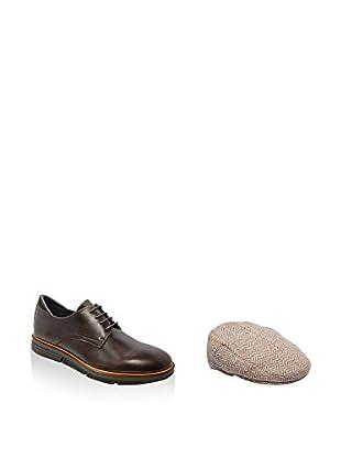Ortiz&Reed Zapatos de cordones + Boina SET-ZDP7-BO8