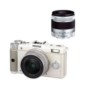 PENTAX デジタル一眼カメラ Q ダブルレンズキット ホワイト PENTAXQWLKWH