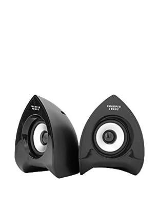 Sharper Image Computer Speakers, Black