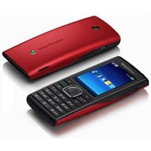 Sony Ericsson Cedar Smartphone-Black & Red
