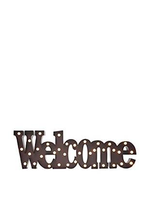 LO+DEMODA Wanddeko LED Welcome
