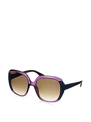 Lanvin Women's SLN593 Sunglasses, Purple/Turquoise