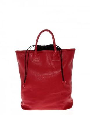 Elysa Tote-Bag mit Kordelzug (Rot)