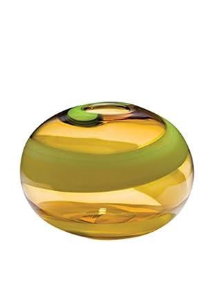 Dynasty Gallery Glass Citrus Round Vase, Citrus