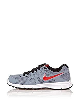 Nike Zapatillas Revolution 2 Gs (Gris / Rojo)